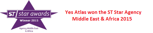 Yes Atlas won ST Star Agency Middle East & Africa 2015